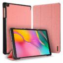 Dux Ducis Domo Samsung Tab A 2019 rózsaszín tablet bőrtok 1