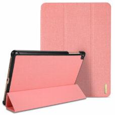Dux Ducis Domo Samsung Tab A 2019 rózsaszín tablet bőrtok 2