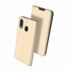 Dux Ducis Samsung Galaxy A20e arany flip tok 2
