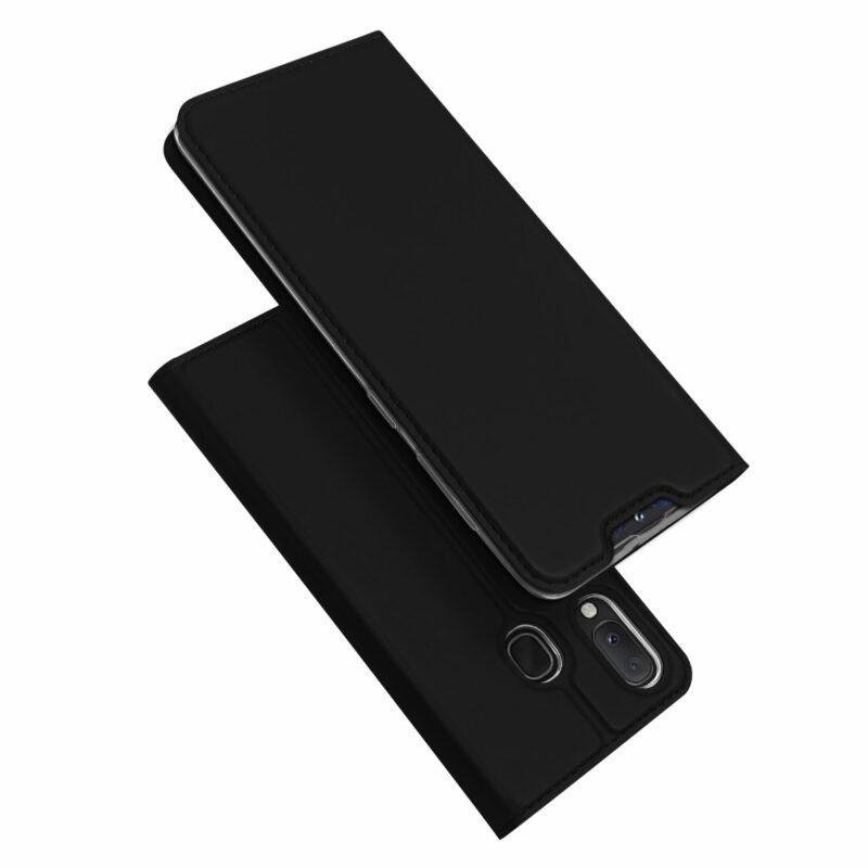 Dux Ducis Samsung Galaxy A20e fekete flip tok 1