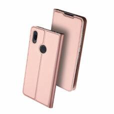 Dux Ducis Xiaomi Redmi Note 7 Pro rózsaarany flip tok 2