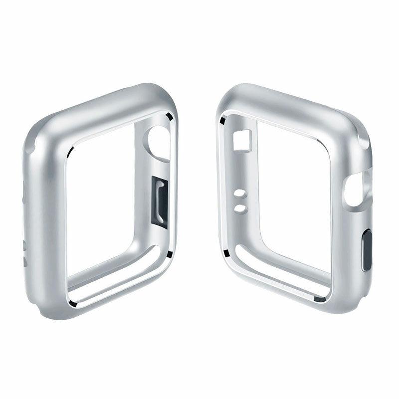 Apple Watch okosóra 360°-os ezüst alumínium tok 1