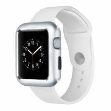 Apple Watch okosóra 360°-os ezüst alumínium tok 2