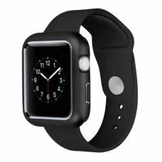 Apple Watch okosóra 360°-os fekete alumínium tok 2