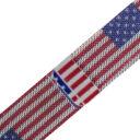 Apple Watch milánói szíj piros-fehér-kék színű amerikai zászló mintás 1