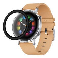 Huawei Watch GT 2 42 mm okosóra 3D fólia fekete kerettel 2