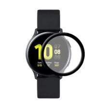 Samsung Galaxy Watch Active 2 40 mm okosóra 3D fólia fekete kerettel 1