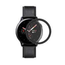 Samsung Galaxy Watch Active 2 44 mm okosóra 3D fólia fekete kerettel 1
