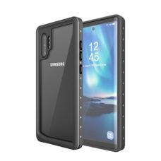 Redpepper Samsung Galaxy Note 10+ fekete vízálló tok 1