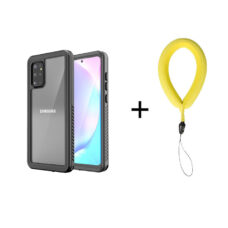 Redpepper Samsung Galaxy S20+ fekete vízálló tok 2