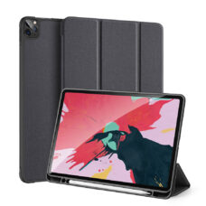 Dux Ducis Domo Apple iPad Pro 2020 fekete tablet bőrtok 1
