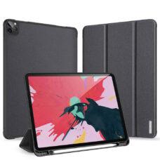 Dux Ducis Domo Apple iPad Pro 2020 fekete tablet bőrtok 2