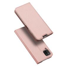 Dux Ducis Huawei P40 Lite rózsaarany flip tok 1