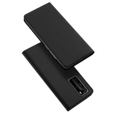 Dux Ducis Huawei P40 Pro fekete flip tok 1