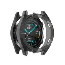 Huawei Watch GT 2 46 mm okosóra fekete szilikon tok 2