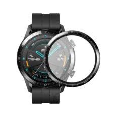 Huawei Watch GT 2 46 mm okosóra 3D fólia fekete kerettel 1