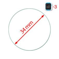 Óra normál üvegfólia 34 mm