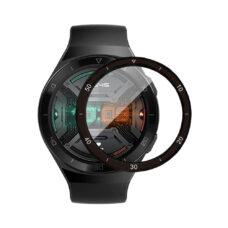 Huawei Watch GT 2e okosóra 3D fólia fekete kerettel 1