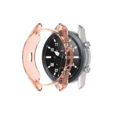 Samsung Galaxy Watch 3 41 mm okosóra rózsaarany szilikon tok 2