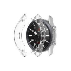 Samsung Galaxy Watch 3 45 mm okosóra átlátszó szilikon tok 2