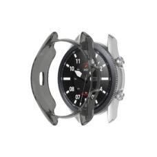Samsung Galaxy Watch 3 45 mm okosóra fekete szilikon tok 2