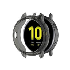 Samsung Galaxy Watch Active 2 44 mm okosóra fekete szilikon tok 2