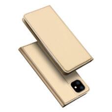 Dux Ducis Apple iPhone 12 Mini arany flip tok 1