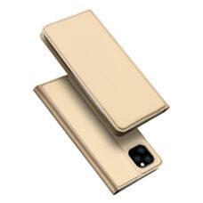 Dux Ducis Apple iPhone 12 Pro arany flip tok 1