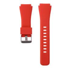 Univerzális bordázott szilikon szíj piros 1