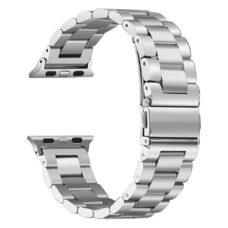 Apple Watch láncszemes fém szíj ezüst 2