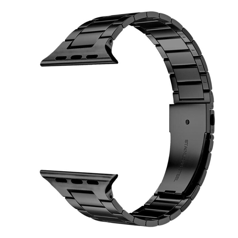 Apple Watch láncszemes fém szíj fekete 1