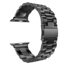 Apple Watch láncszemes fém szíj fekete 2