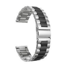 Univerzális láncszemes fém szíj ezüst-fekete 1