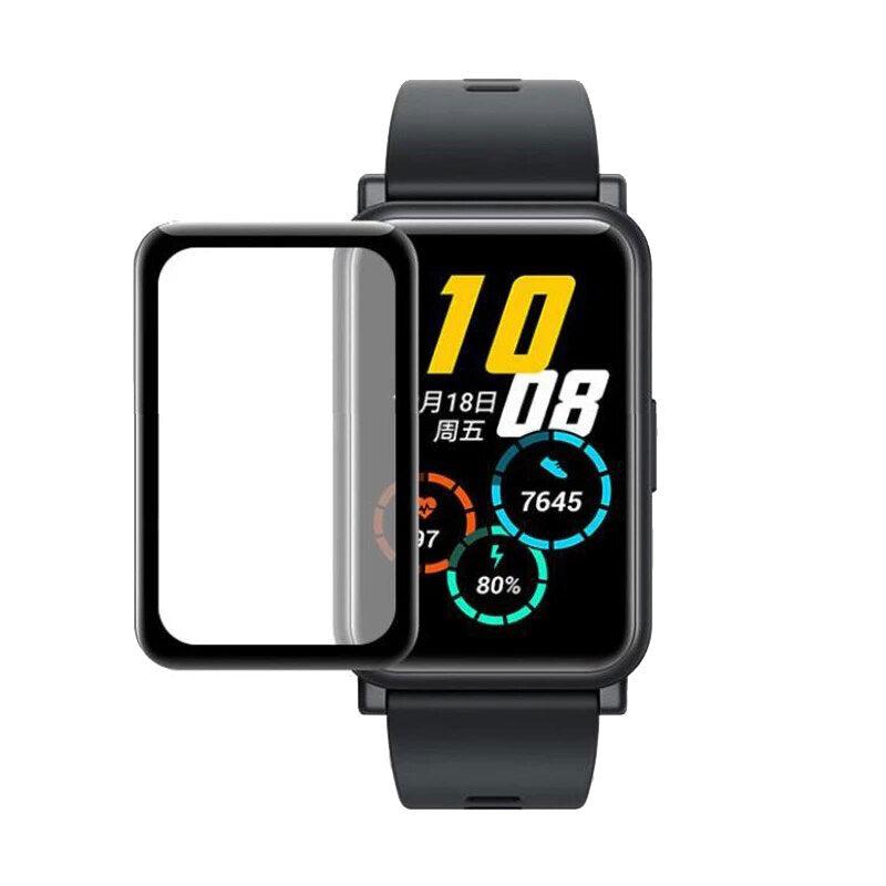 Huawei Watch Fit okosóra 3D fólia fekete kerettel 1