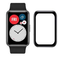 Huawei Watch Fit okosóra 3D fólia fekete kerettel 2