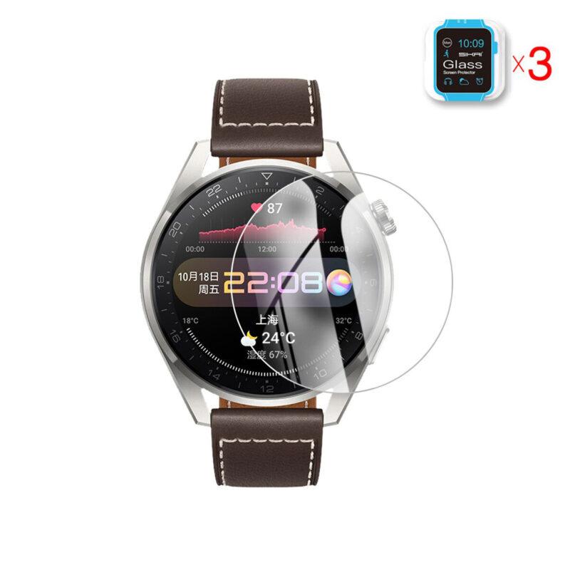 Huawei Watch 3 Pro okosóra üvegfólia 1