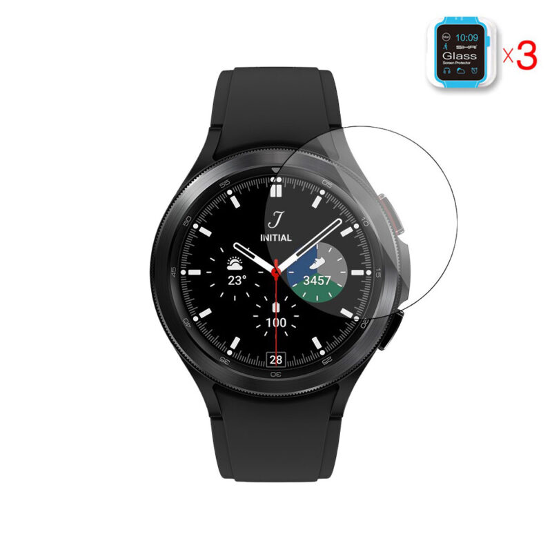 Samsung Galaxy Watch 4 Classic 46 mm okosóra üvegfólia 1