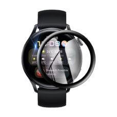 Huawei Watch 3 okosóra 3D fólia fekete kerettel 1